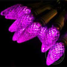 stylish decoration purple lights 20 5mm led craft green