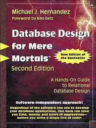 database design tutorial videos cover page database design for mere mortals a hands on guide to