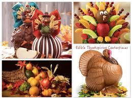 top 4 edible thanksgiving centerpieces fall entertaining