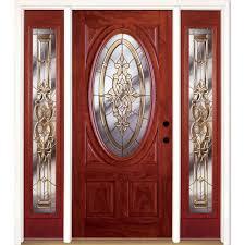 leaded glass door repair front doors exterior doors the home depot