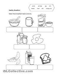 41 free esl healthy food worksheets healthy unhealthy good food