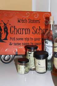 halloween decorations potion bottles harris sisters girltalk halloween home tour