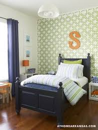 Green And Blue Bedrooms - wall murals decals sports themed interiors snowboarding