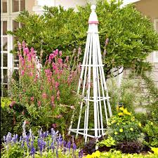 innovation idea garden obelisk trellis brilliant ideas wooden