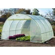 serre tunelle de jardin tunnel pas cher maraîchère 13m serre tonneau de jardin