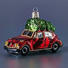 vintage beetle car ornament home kitchen