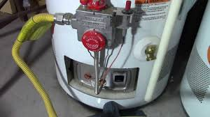 gas water heater pilot light keeps going out how to relight a water heater pilot light youtube