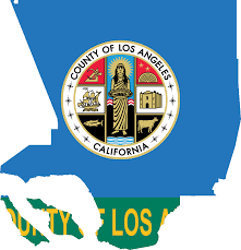Map Los Angeles Ca by File Flag Map Of Los Angeles County California Png Wikimedia