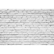 Stone Wall Mural White Brick Wall Mural Majestic Wall Art