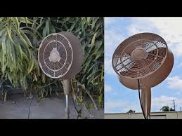 outdoor oscillating fans patio newair af 520 18 inch oscillating outdoor misting fan perfect for