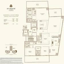 residence inn floor plans uncategorized st regis residences floor plan outstanding inside