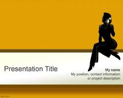 free talkative woman powerpoint template is an awesome powerpoint