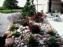 Rock For Garden Best Rocks For Garden Beautiful Front Yard Landscape Ideas With