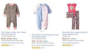 the childrens place pj s more pajamas as low as 2 49