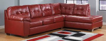 Ashley Furniture Leather Sectional With Chaise Buy Ashley Furniture 2010066 2010017 Alliston Durablend Salsa Raf