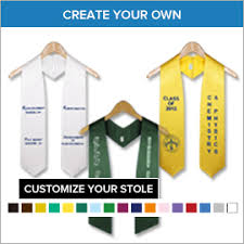 custom graduation sashes graduation stoles gradshop