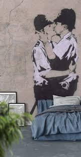 26 best graffiti wall murals images on pinterest graffiti wall police couple wall mural wallpaper