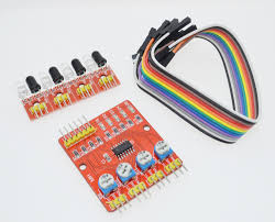 four road 4 channel infrared detector tracking transmission line