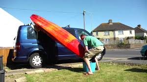 Best Way To Put Lights by How To Put A Kayak On A Van Youtube