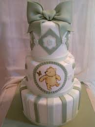 Classic Pooh Baby Shower Classic Pooh Cake Cakecentral Com