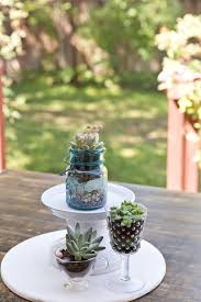 succulent centerpieces diy wedding succulent centerpieces rustic wedding chic regarding