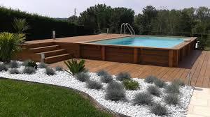 jardin paysager avec piscine piscine hors sol recherche google pools pinterest