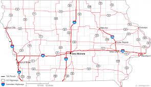 map of iowa towns map of iowa