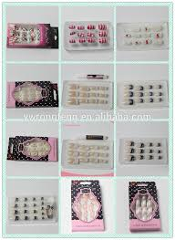 abs artificial fake nails full cover different styles of acrylic