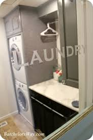 Behind The Door Cabinet Batchelors Way Laundry Room Reveal Or How To Pack Lots Of