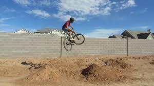 my backyard dirt jumps youtube