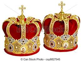 orthodox wedding crowns two orthodox wedding crowns two orthodox wedding ceremonial