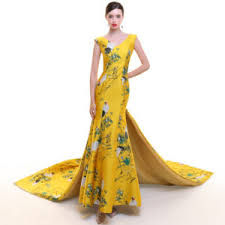 yellow wedding dress wedding dresses modern qipao