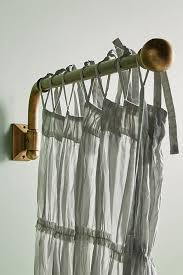 Swing Arm Curtain Rod Clarence Swing Arm Curtain Rod Anthropologie