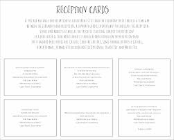 Reception Cards Reception Cards Png