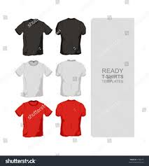 ready tshirts templates stock vector 2102215 shutterstock