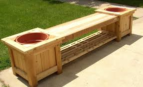 Wooden Garden Bench Plans by Backyard Storage Ideas Some Types Of Solutions Outdoor Bench With
