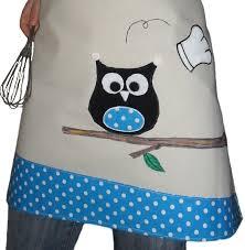 tablier cuisine femme tablier femme originale et humoristique chouette cuisine et