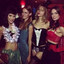halloween party costumes la models pre halloween costume party