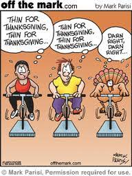 thanksgiving calories pre burn them or burn them after