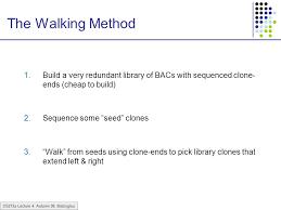 Cheap Bac Cs273a Lecture 4 Autumn 08 Batzoglou Hierarchical Sequencing