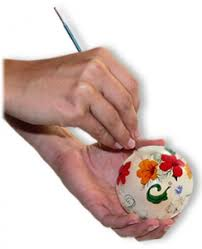 about our painted ornaments by design