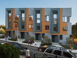Three Story Homes Roxbury E Net Zero Energy Townhouses In Boston Massachusetts