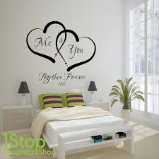 chic wall art decal quotes happiness is being home wall art