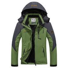 Men Winter Thermal Fahsion Velvet Outerwear Waterproof Windproof
