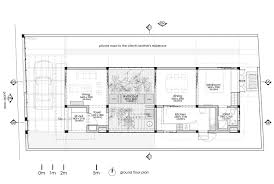 House Rules Floor Plan Situated On A Narrow Plot Flanked By Public Roads And Neighboring