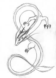 oriental dragon sketch by thedragonlady on deviantart