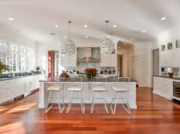 beautiful kitchen with brazilian cherry floors white shaker