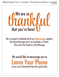 phone free thanksgiving the chic site