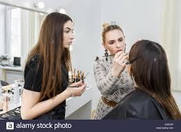 professional makeup artist school professional makeup student girl to become