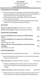Teacher Resume Experience Examples College Admission Essay Coaching Editing Service Not So U0026 Sample